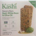 Kashi Savory Bars, Basil,White Bean & Olive Oil 10 bar per box ( 4 PACK)