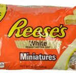 REESE'S White Peanut Butter Cups Miniatures, 12 Ounce (Pack of 4)