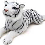 Sada the White Tiger | 2 Foot Long Stuffed Animal Plush | By Tiger Tale Toys