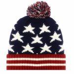 Timeless Americana Red, White & Blue American Flag Beanie