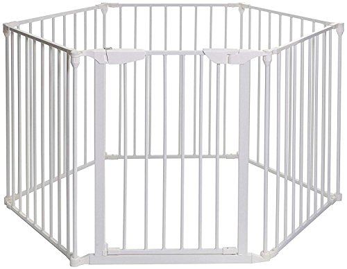 Teekland White Baby Safety Gate/Baby Protect Walls